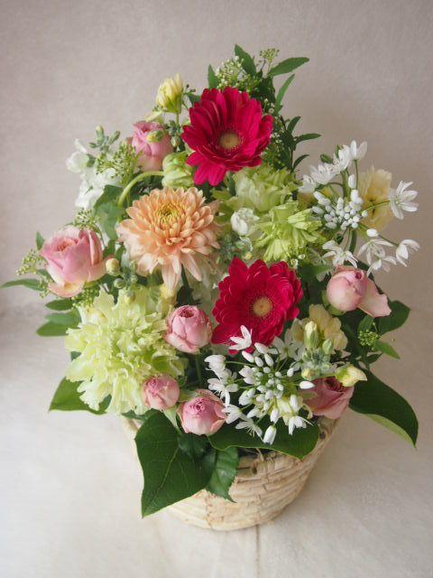 花ギフト|フラワーギフト|誕生日 花|カノシェ話題|スタンド花|ウエディングブーケ|花束|花屋|46501