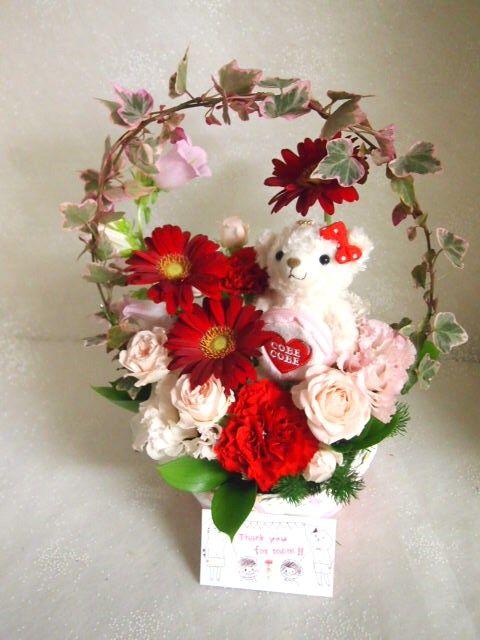 花ギフト|フラワーギフト|誕生日 花|カノシェ話題|スタンド花|ウエディングブーケ|花束|花屋|55798
