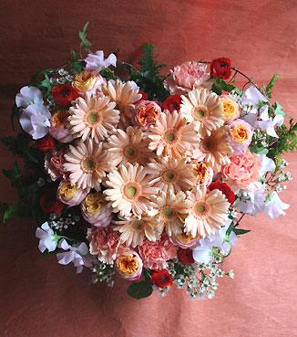 花ギフト|フラワーギフト|誕生日 花|カノシェ話題|スタンド花|ウエディングブーケ|花束|花屋|ハート2