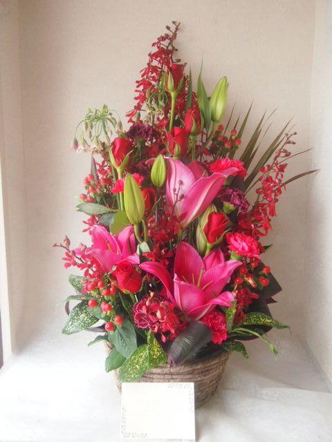 花ギフト|フラワーギフト|誕生日 花|カノシェ話題|スタンド花|ウエディングブーケ|花束|花屋|48324