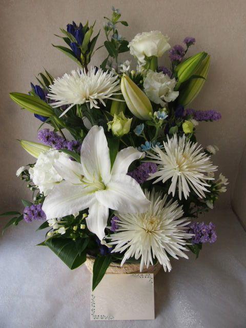 花ギフト|フラワーギフト|誕生日 花|カノシェ話題|スタンド花|ウエディングブーケ|花束|花屋|57683