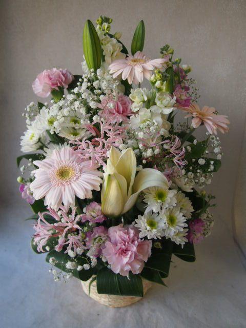 花ギフト|フラワーギフト|誕生日 花|カノシェ話題|スタンド花|ウエディングブーケ|花束|花屋|52104