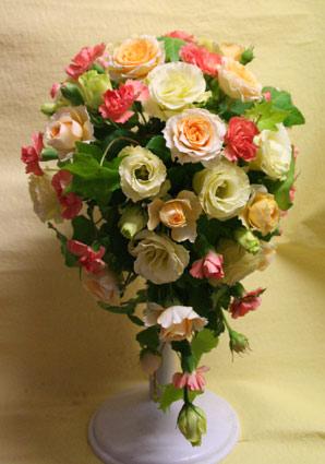 花ギフト|フラワーギフト|誕生日 花|カノシェ話題|スタンド花|ウエディングブーケ|花束|花屋|IMG_0193