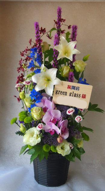 花ギフト|フラワーギフト|誕生日 花|カノシェ話題|スタンド花|ウエディングブーケ|花束|花屋|56287
