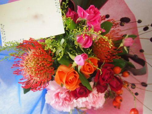 花ギフト|フラワーギフト|誕生日 花|カノシェ話題|スタンド花|ウエディングブーケ|花束|花屋|50946