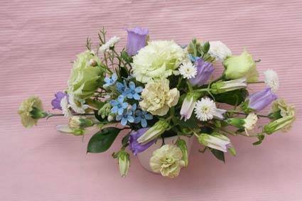 花ギフト フラワーギフト 誕生日 花 カノシェ話題 スタンド花 ウエディングブーケ 花束 花屋 423