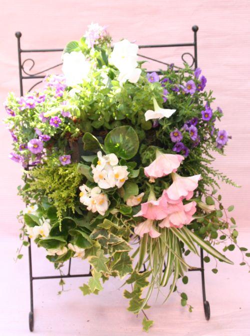 花ギフト|フラワーギフト|誕生日 花|カノシェ話題|スタンド花|ウエディングブーケ|花束|花屋|IMG_0290