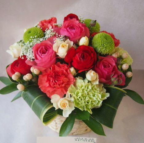 花ギフト|フラワーギフト|誕生日 花|カノシェ話題|スタンド花|ウエディングブーケ|花束|花屋|46481
