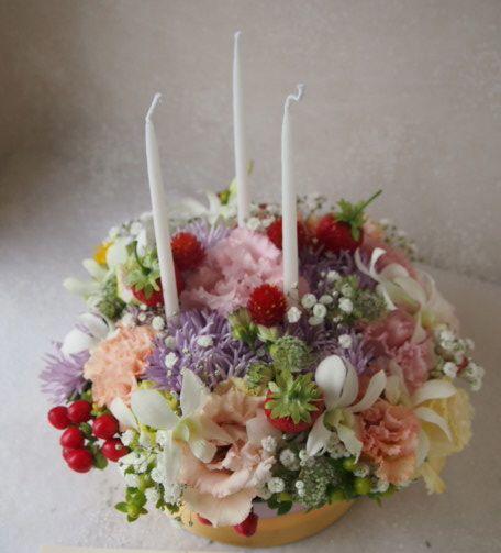 花ギフト|フラワーギフト|誕生日 花|カノシェ話題|スタンド花|ウエディングブーケ|花束|花屋|57265