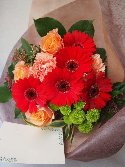 花ギフト|フラワーギフト|誕生日 花|カノシェ話題|スタンド花|ウエディングブーケ|花束|花屋|53528