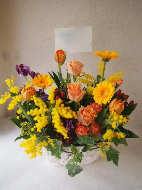 花ギフト|フラワーギフト|誕生日 花|カノシェ話題|スタンド花|ウエディングブーケ|花束|花屋|52960