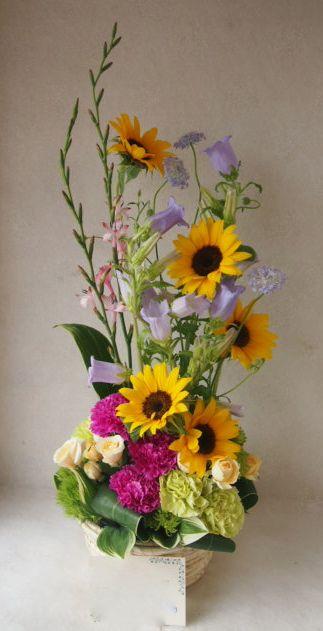花ギフト|フラワーギフト|誕生日 花|カノシェ話題|スタンド花|ウエディングブーケ|花束|花屋|48064