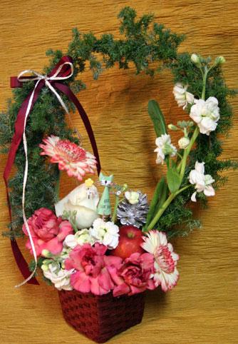花ギフト|フラワーギフト|誕生日 花|カノシェ話題|スタンド花|ウエディングブーケ|花束|花屋|hukunisisan-st