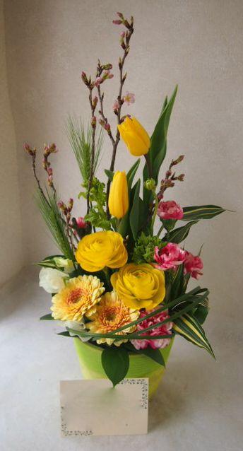花ギフト|フラワーギフト|誕生日 花|カノシェ話題|スタンド花|ウエディングブーケ|花束|花屋|54073