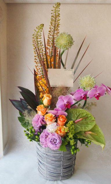 花ギフト|フラワーギフト|誕生日 花|カノシェ話題|スタンド花|ウエディングブーケ|花束|花屋|48836