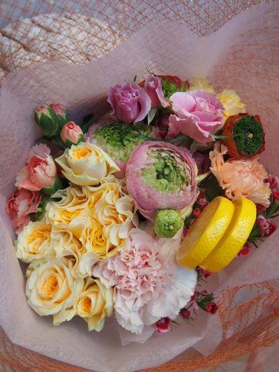 花ギフト|フラワーギフト|誕生日 花|カノシェ話題|スタンド花|ウエディングブーケ|花束|花屋|38655(1)