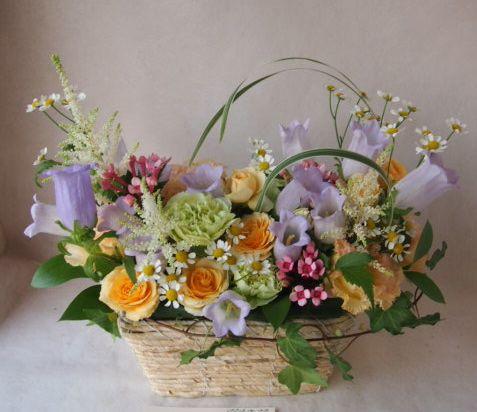 花ギフト|フラワーギフト|誕生日 花|カノシェ話題|スタンド花|ウエディングブーケ|花束|花屋|40814