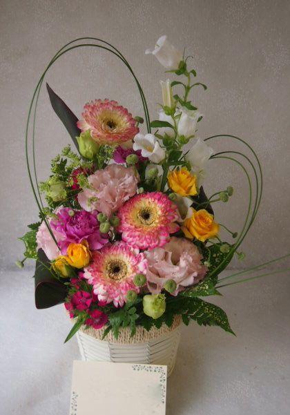 花ギフト|フラワーギフト|誕生日 花|カノシェ話題|スタンド花|ウエディングブーケ|花束|花屋|55000