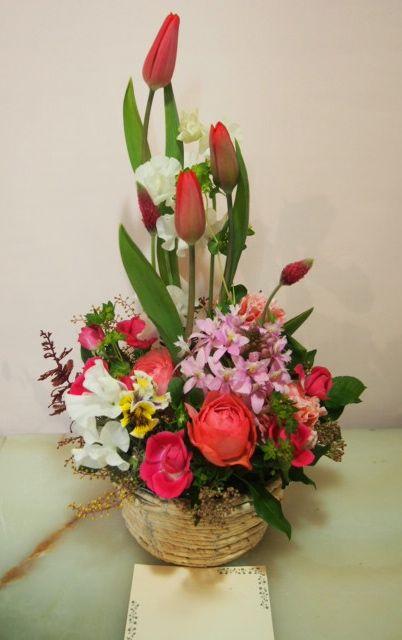 花ギフト|フラワーギフト|誕生日 花|カノシェ話題|スタンド花|ウエディングブーケ|花束|花屋|53644