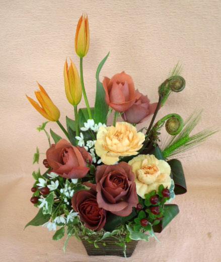 花ギフト フラワーギフト 誕生日 花 カノシェ話題 スタンド花 ウエディングブーケ 花束 花屋 br
