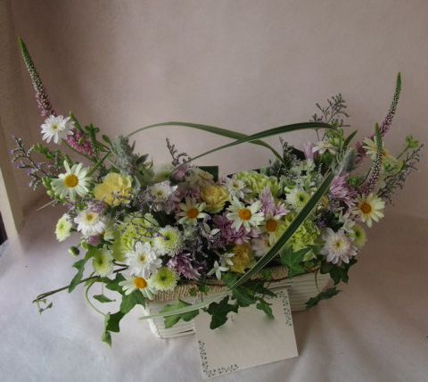 花ギフト|フラワーギフト|誕生日 花|カノシェ話題|スタンド花|ウエディングブーケ|花束|花屋|40950