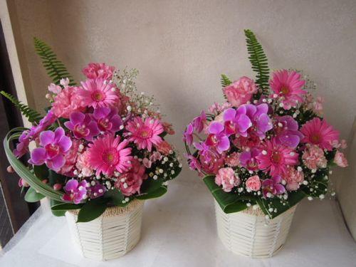 花ギフト フラワーギフト 誕生日 花 カノシェ話題 スタンド花 ウエディングブーケ 花束 花屋 49860