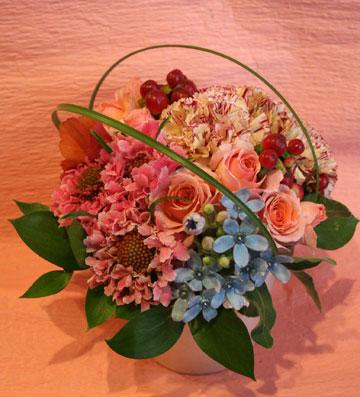 花ギフト|フラワーギフト|誕生日 花|カノシェ話題|スタンド花|ウエディングブーケ|花束|花屋|418-hajimete