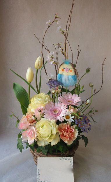 花ギフト|フラワーギフト|誕生日 花|カノシェ話題|スタンド花|ウエディングブーケ|花束|花屋|45905(1)