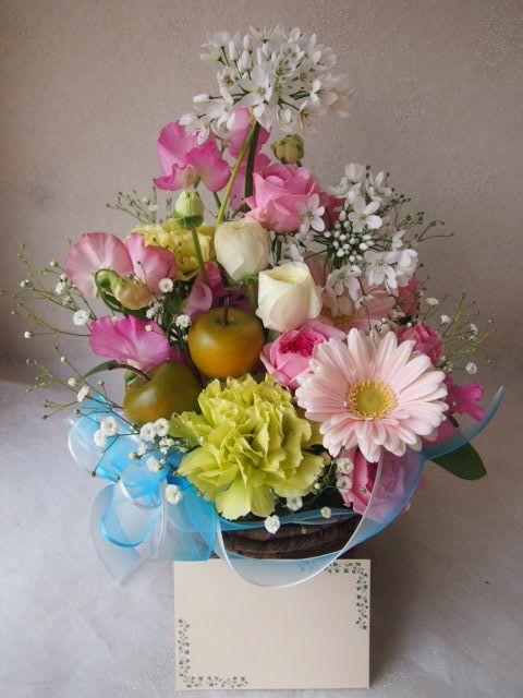 花ギフト|フラワーギフト|誕生日 花|カノシェ話題|スタンド花|ウエディングブーケ|花束|花屋|54297
