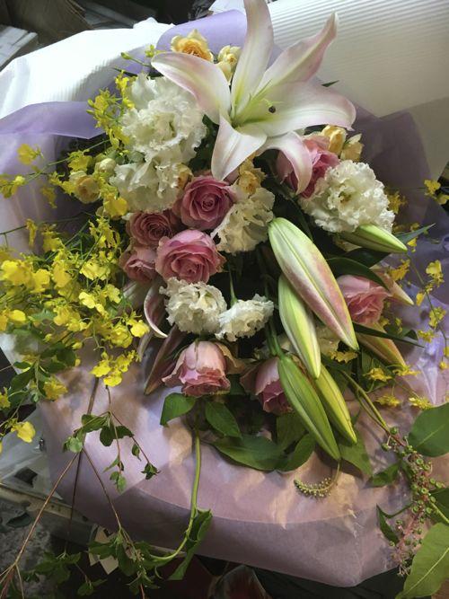 花ギフト|フラワーギフト|誕生日 花|カノシェ話題|スタンド花|ウエディングブーケ|花束|花屋|IMG_2753