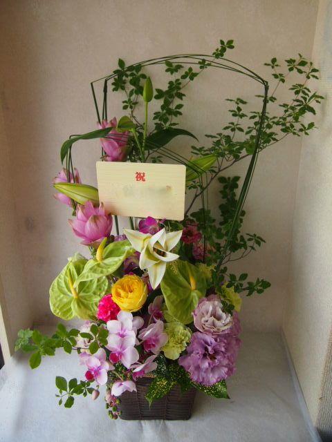 花ギフト|フラワーギフト|誕生日 花|カノシェ話題|スタンド花|ウエディングブーケ|花束|花屋|56930