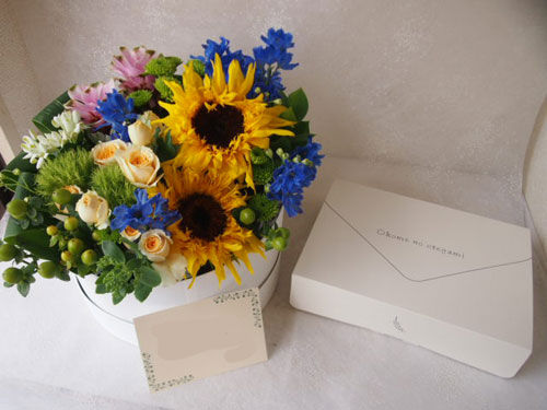 花ギフト|フラワーギフト|誕生日 花|カノシェ話題|スタンド花|ウエディングブーケ|花束|花屋|55910