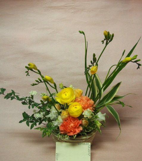 花ギフト|フラワーギフト|誕生日 花|カノシェ話題|スタンド花|ウエディングブーケ|花束|花屋|53071(1)