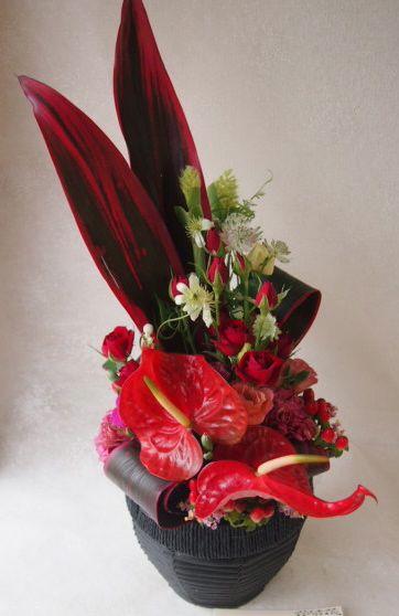 花ギフト|フラワーギフト|誕生日 花|カノシェ話題|スタンド花|ウエディングブーケ|花束|花屋|48887(1)