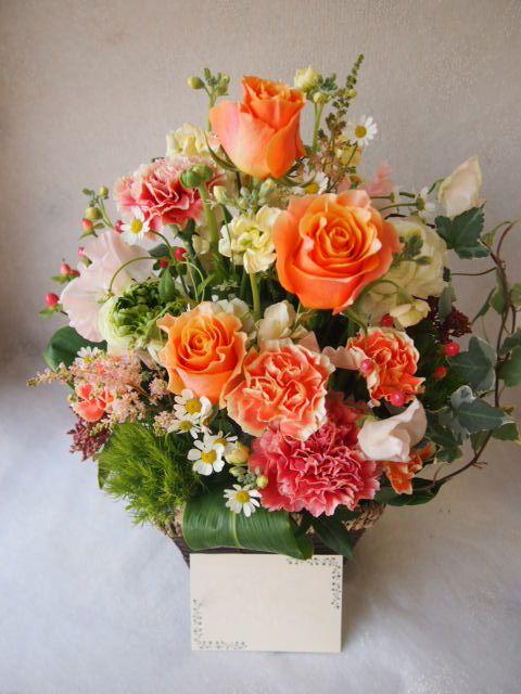 花ギフト|フラワーギフト|誕生日 花|カノシェ話題|スタンド花|ウエディングブーケ|花束|花屋|53648