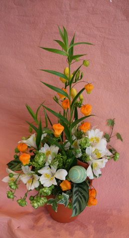 花ギフト|フラワーギフト|誕生日 花|カノシェ話題|スタンド花|ウエディングブーケ|花束|花屋|44easter