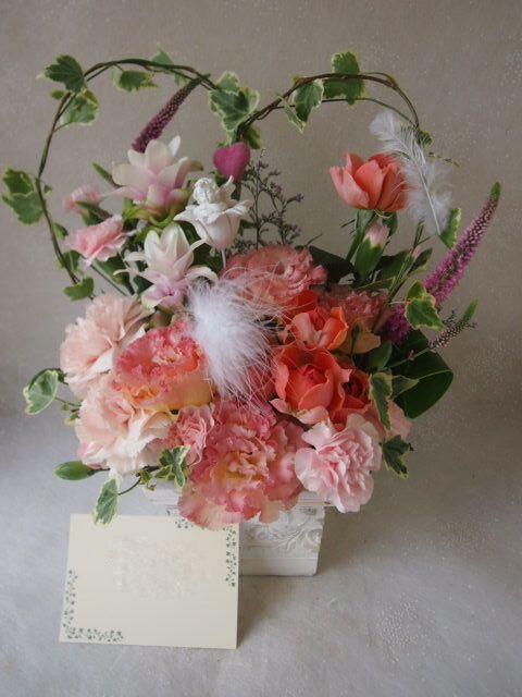 花ギフト|フラワーギフト|誕生日 花|カノシェ話題|スタンド花|ウエディングブーケ|花束|花屋|56384