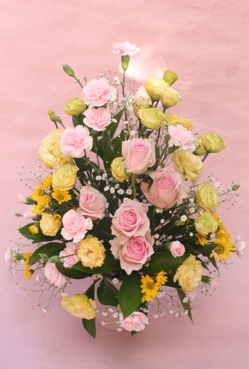 花ギフト|フラワーギフト|誕生日 花|カノシェ話題|スタンド花|ウエディングブーケ|花束|花屋|IMG_1097