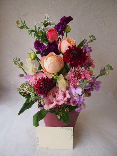 花ギフト|フラワーギフト|誕生日 花|カノシェ話題|スタンド花|ウエディングブーケ|花束|花屋|53435
