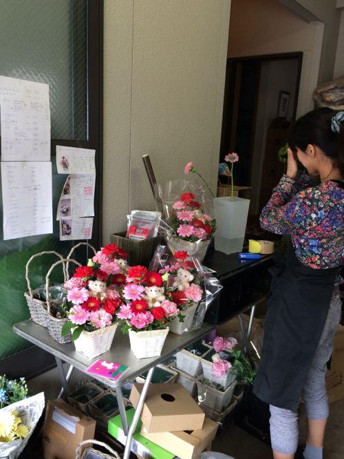 花ギフト|フラワーギフト|誕生日 花|カノシェ話題|スタンド花|ウエディングブーケ|花束|花屋|IMG_5096