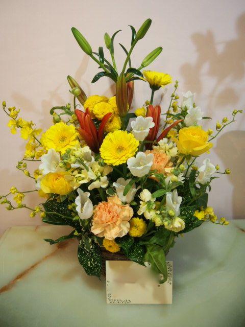 花ギフト|フラワーギフト|誕生日 花|カノシェ話題|スタンド花|ウエディングブーケ|花束|花屋|53339