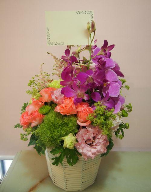 花ギフト|フラワーギフト|誕生日 花|カノシェ話題|スタンド花|ウエディングブーケ|花束|花屋|56197
