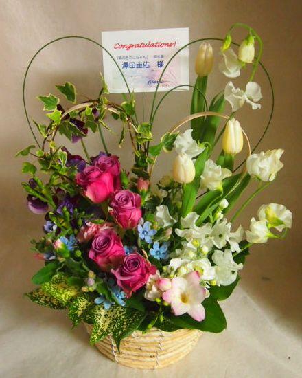 花ギフト|フラワーギフト|誕生日 花|カノシェ話題|スタンド花|ウエディングブーケ|花束|花屋|45480