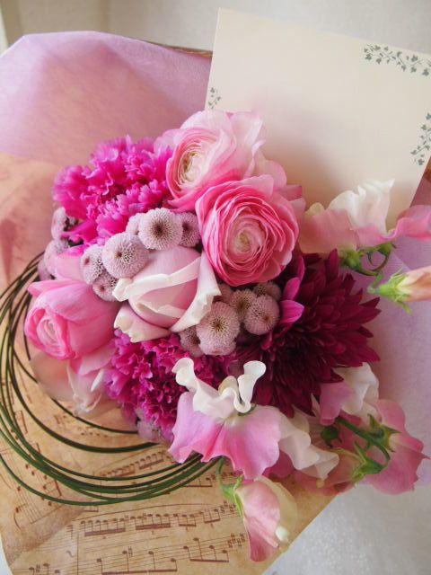 花ギフト|フラワーギフト|誕生日 花|カノシェ話題|スタンド花|ウエディングブーケ|花束|花屋|53549