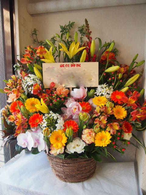 花ギフト|フラワーギフト|誕生日 花|カノシェ話題|スタンド花|ウエディングブーケ|花束|花屋|53613