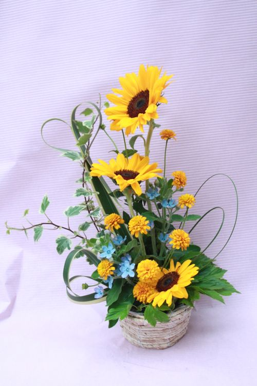 花ギフト|フラワーギフト|誕生日 花|カノシェ話題|スタンド花|ウエディングブーケ|花束|花屋|IMG_3925