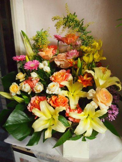花ギフト|フラワーギフト|誕生日 花|カノシェ話題|スタンド花|ウエディングブーケ|花束|花屋|38033