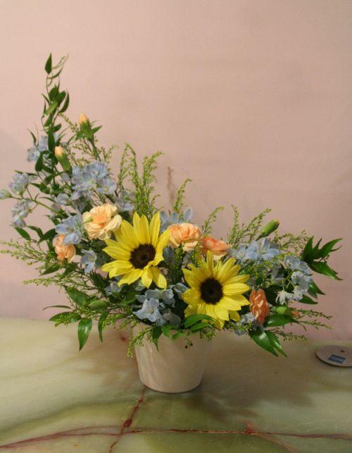 花ギフト|フラワーギフト|誕生日 花|カノシェ話題|スタンド花|ウエディングブーケ|花束|花屋|IMG_3009