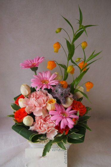 花ギフト|フラワーギフト|誕生日 花|カノシェ話題|スタンド花|ウエディングブーケ|花束|花屋|39211