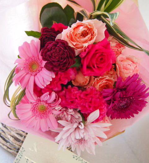 花ギフト|フラワーギフト|誕生日 花|カノシェ話題|スタンド花|ウエディングブーケ|花束|花屋|57969